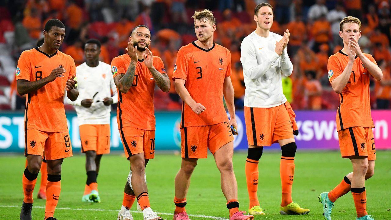 Gruppe C: Die Niederlande (Gruppensieger, 9 Punkte/8:2 Tore) - Bildquelle: 2021 Getty Images