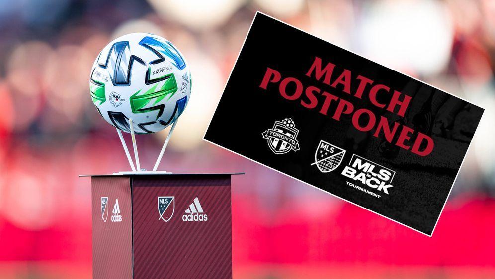 Das MLS-Spiel zwischen Toronto FC und D.C. United wurde kurzfristig abgesagt... - Bildquelle: Imago/twitter@TorontoFC