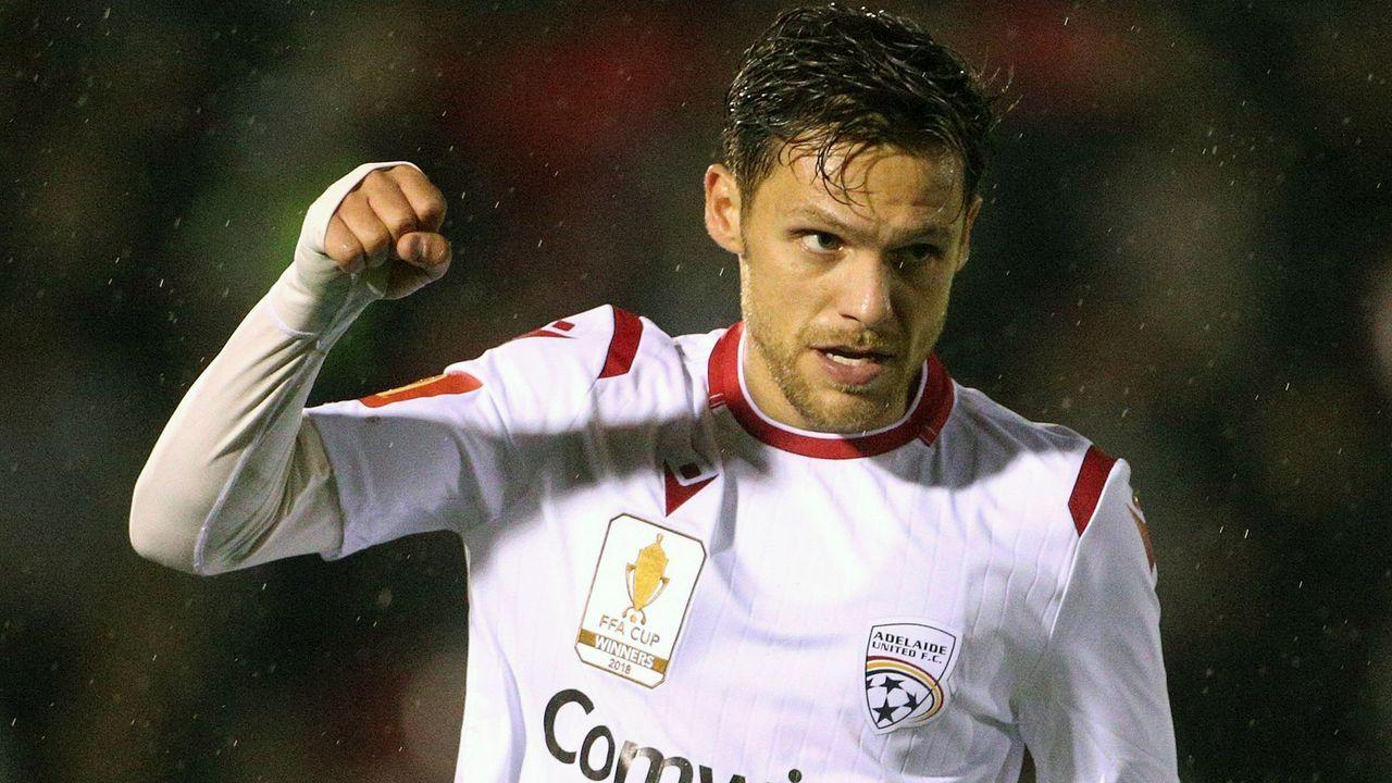 Mirko Boland (Adelaide United) - Bildquelle: imago images / AAP