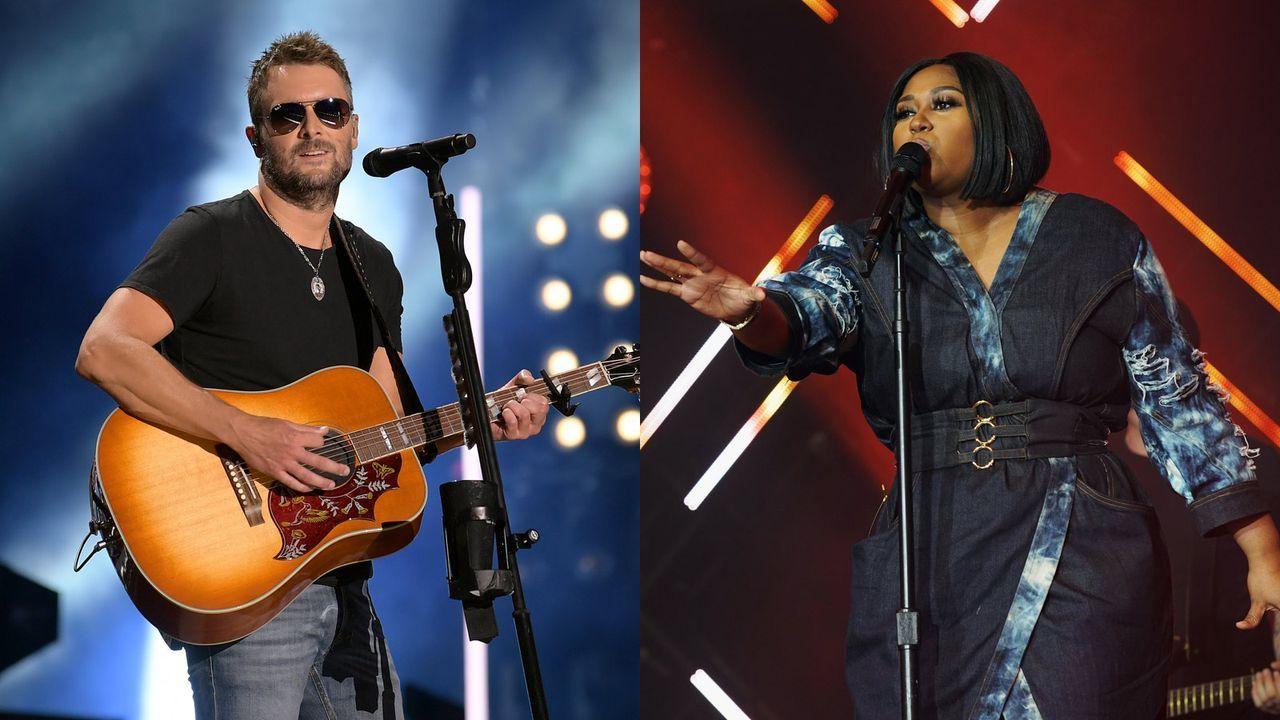 Nationalhymne: Jazmine Sullivan und Eric Church
