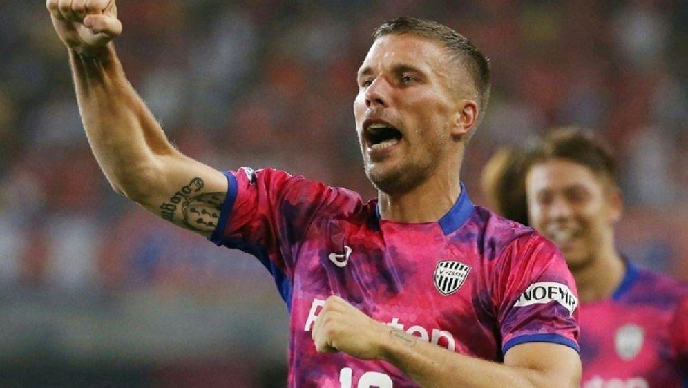 Spielt seit 2017 in Japan: Lukas Podolski - Bildquelle: AFPSIDSTR