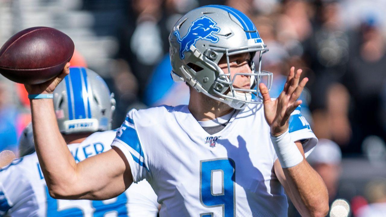 Matthew Stafford (Detroit Lions) - Bildquelle: imago images/Icon SMI