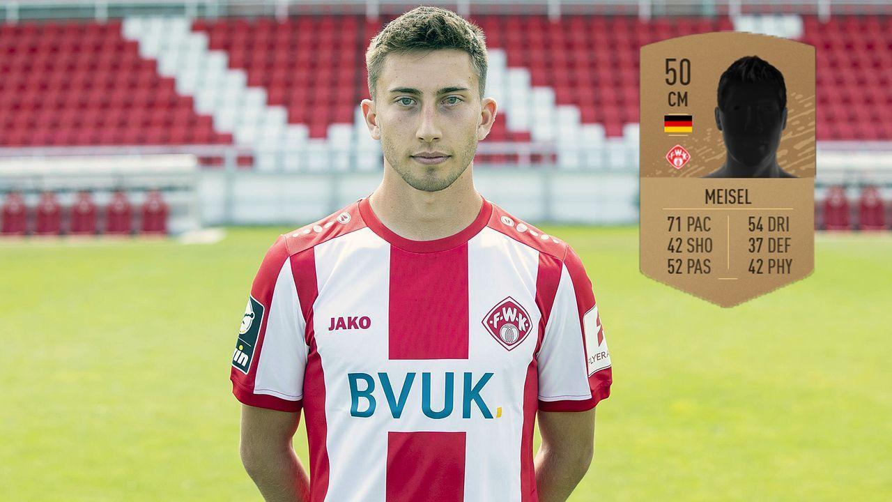 Dominik Meisel (Würzburger Kickers) - Bildquelle: imago images / HMB-Media