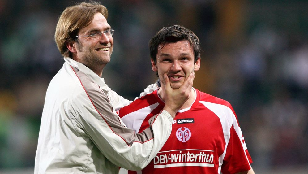 Benjamin Auer (re.) bestritt in Mainz einst128 Pflichtspiele unter Jürgen K... - Bildquelle: imago/Contrast