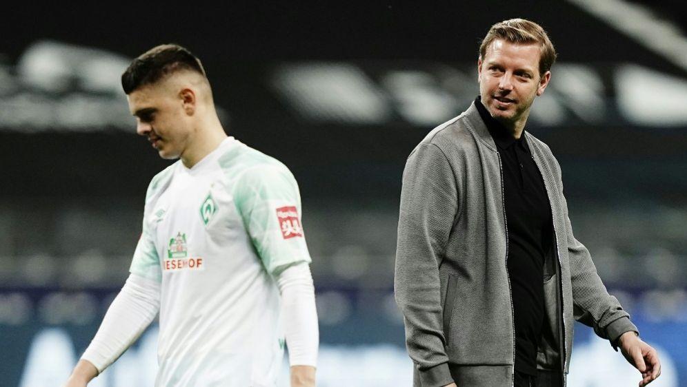 Stürmer Milot Rashica (l.) und Trainer Florian Kohfeldt - Bildquelle: FIROFIROSID