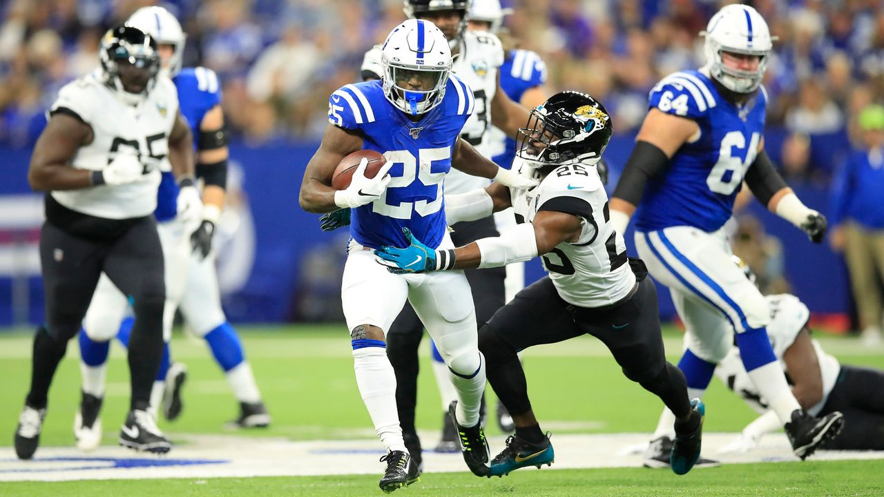 Rushing Offense: Indianapolis Colts - Bildquelle: 2019 Getty Images