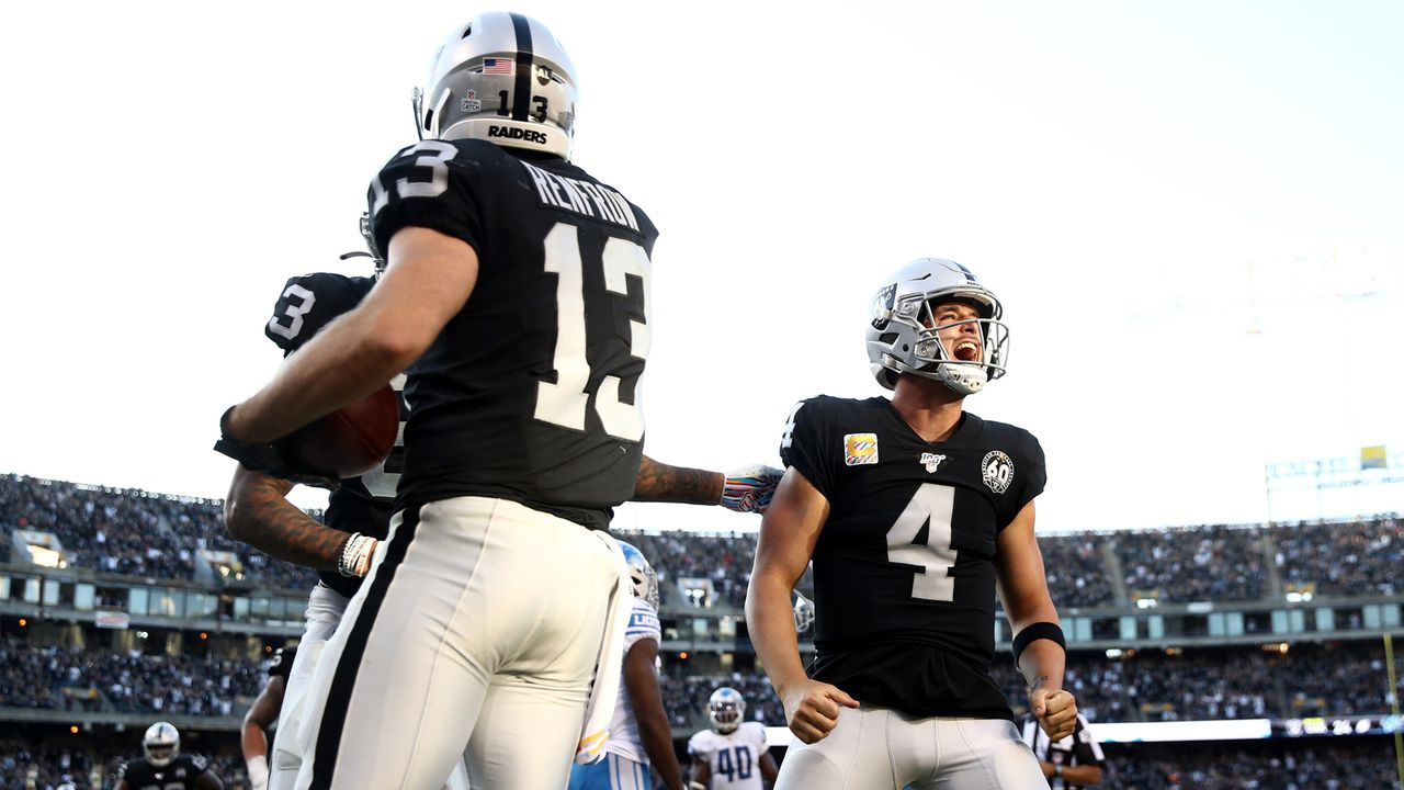 Sit: Passing-Offense Oakland Raiders - Bildquelle: Getty Images