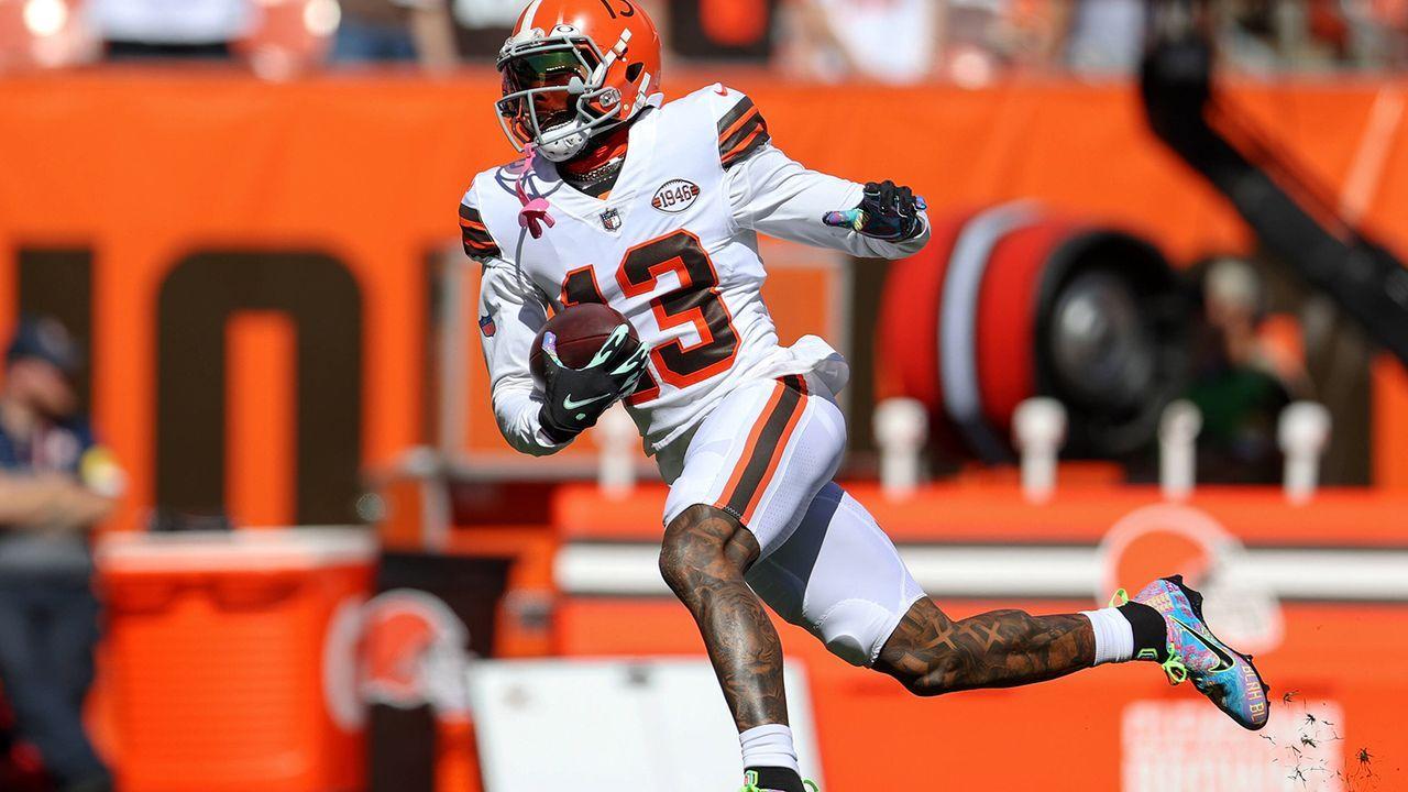 Odell Beckham Jr. (Cleveland Browns) - Bildquelle: Imago Images