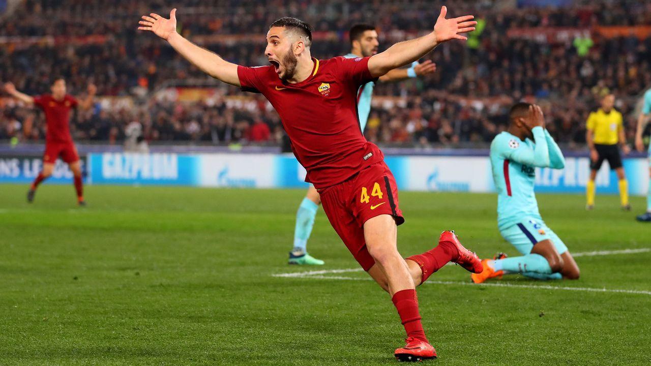 AS Rom - FC Barcelona (Saison 2017/18) - Bildquelle: 2018 Getty Images