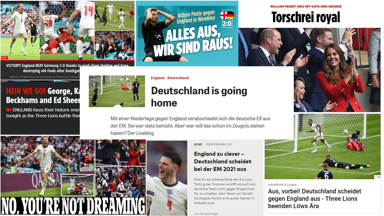 EM 20 Die Pressestimmen nach Deutschland vs. England