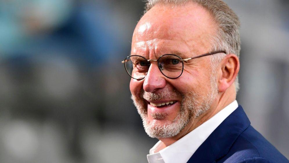 Karl-Heinz Rummenigge wirbt um einen Vertrauensvorschuss - Bildquelle: AFPSIDROBERT MICHAEL