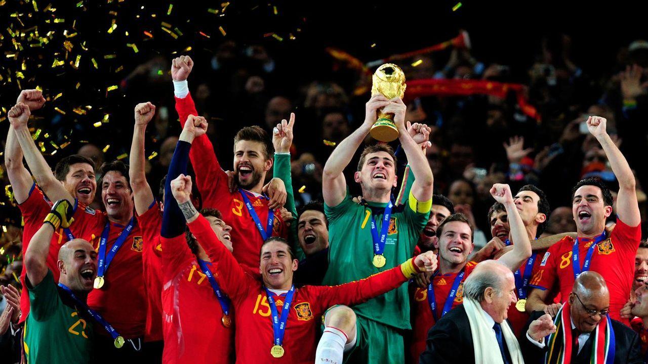 Platz 5: Spanien (drei Final-Teilnahmen) - Bildquelle: getty