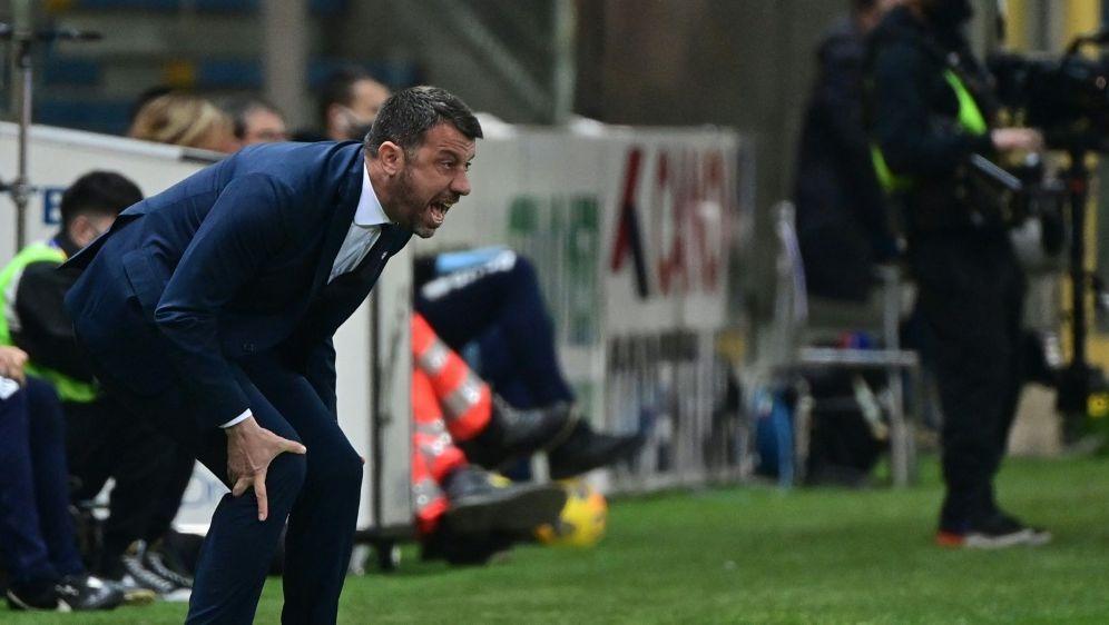 Das Team von Roberto D'Aversa steigt ab - Bildquelle: AFPSIDMIGUEL MEDINA
