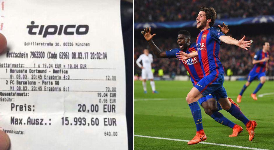 Mega-Gewinn dank Barca-Comeback - Bildquelle: Getty Images / facebook.com/transferticker