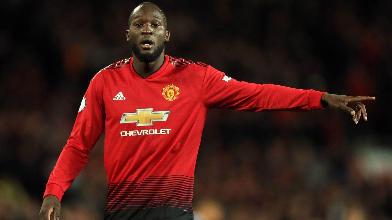 Platz 10 - Romelu Lukaku (Manchester United) - Bildquelle: imago/Sportimage