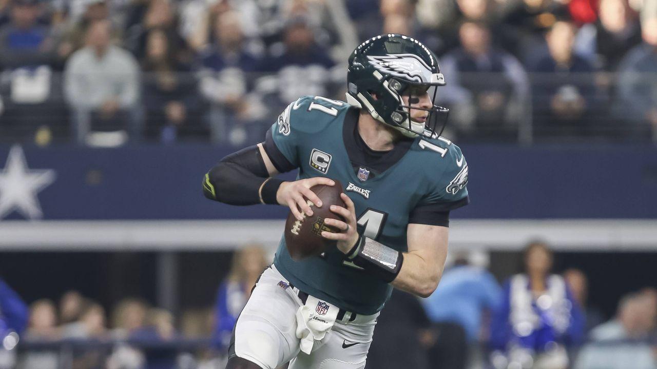 4. Carson Wentz (Philadelphia Eagles) - Bildquelle: imago/Icon SMI