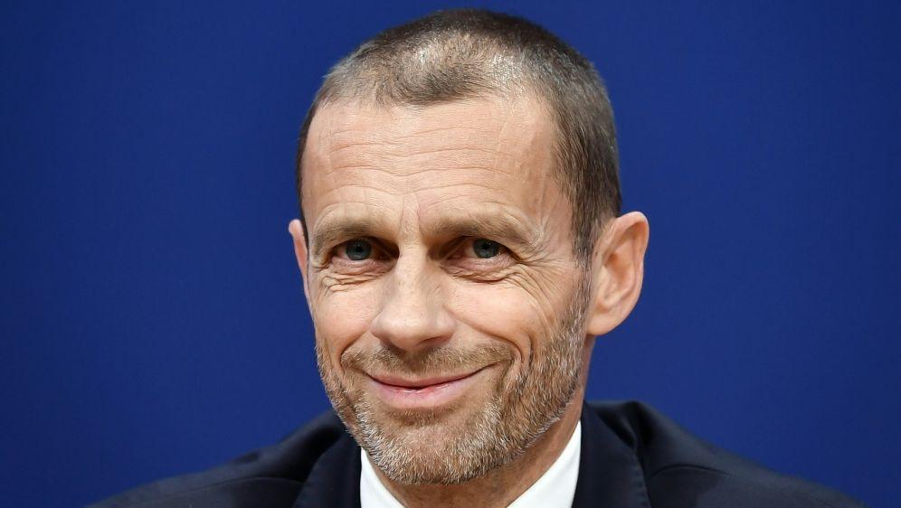 UEFA-Präsident AleksanderCeferin - Bildquelle: AFPSIDFABRICE COFFRINI