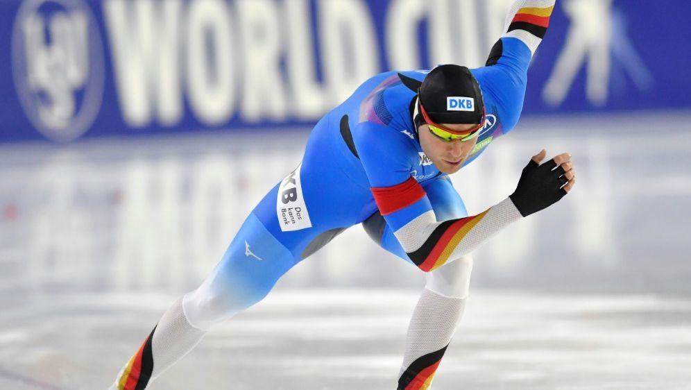 Eissprinter Ihle belegt in Heerenveen nur den 13. Platz - Bildquelle: PIXATHLONPIXATHLONSID
