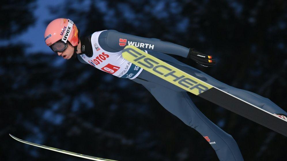 Karl Geiger ist nach dem ersten Durchgang nur 16. - Bildquelle: AFPSIDJANEK SKARZYNSKI
