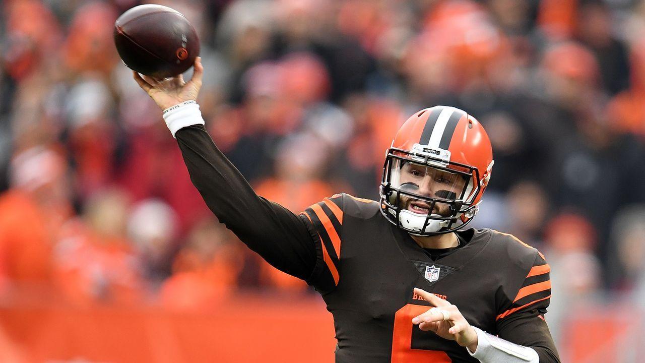 Baker Mayfield (Quarterback, Cleveland Browns) - Bildquelle: 2018 Getty Images