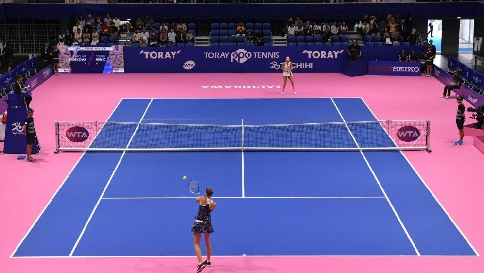 WTA-Turnier in Tokio erstmals abgesagt - Bildquelle: AFPSIDTOSHIFUMI KITAMURA