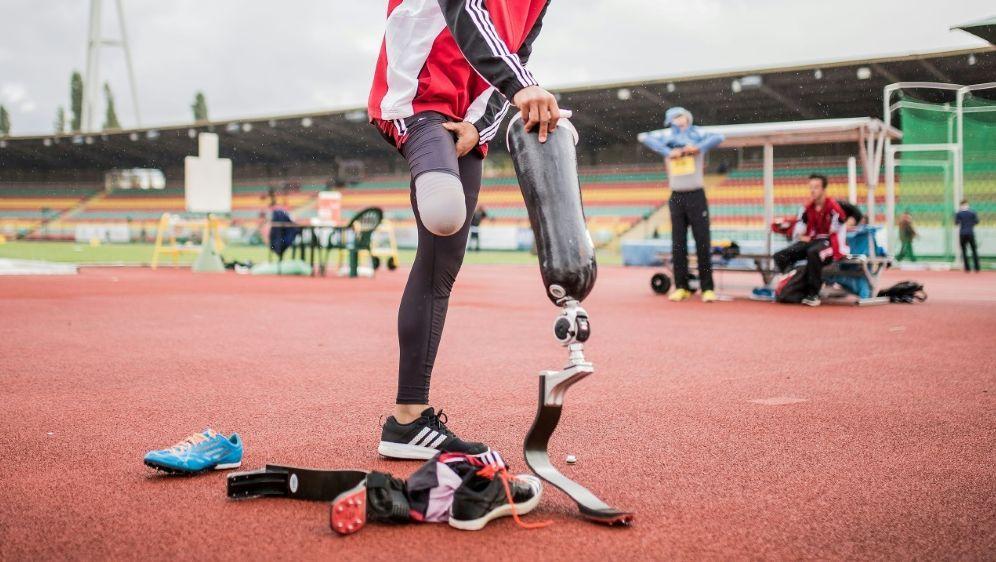Weitspringer Leon Schäfer stellt Weltrekord auf - Bildquelle: PIXATHLONPIXATHLONSID