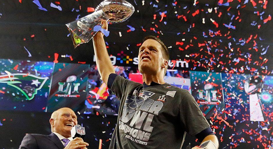 1. neuer Rekord: Meiste Super-Bowl-Siege eines Quarterback - Bildquelle: 2017 Getty Images