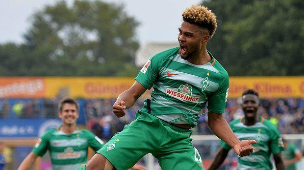 Serge Gnabry (SV Werder Bremen) - Bildquelle: imago/Jan Huebner