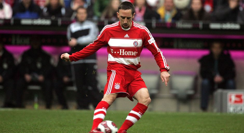 2007 - Franck Ribery zum FC Bayern München (25 Mio.) - Bildquelle: 2007 Getty Images