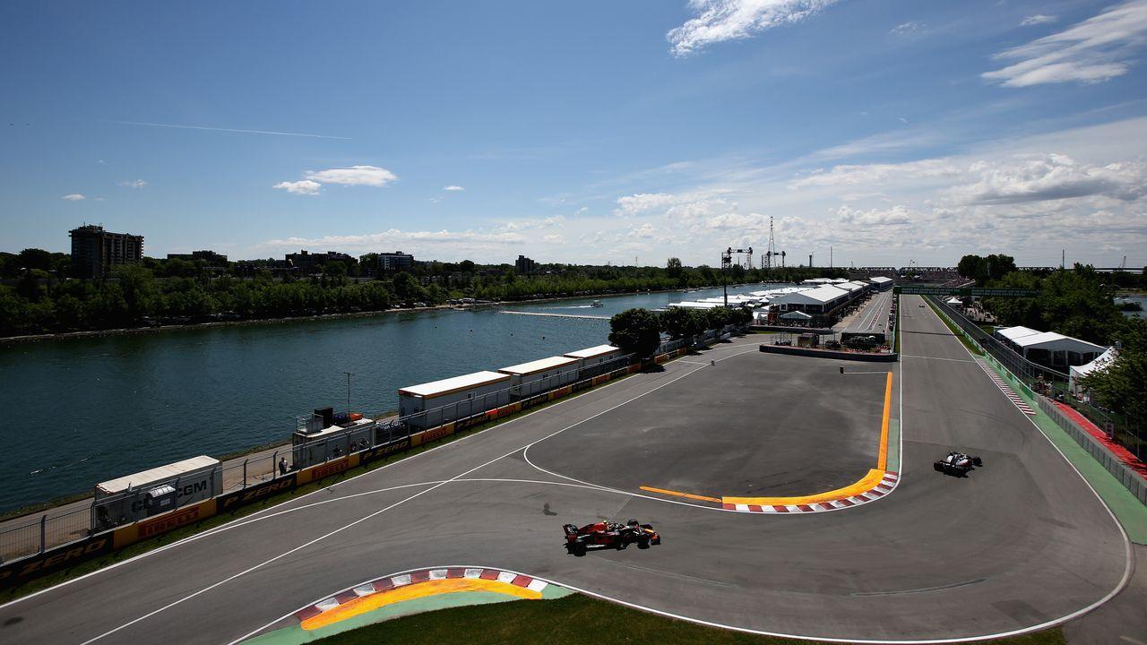 Circuit Gilles-Villeneuve Montreal, Kanada - Bildquelle: 2018 Getty Images