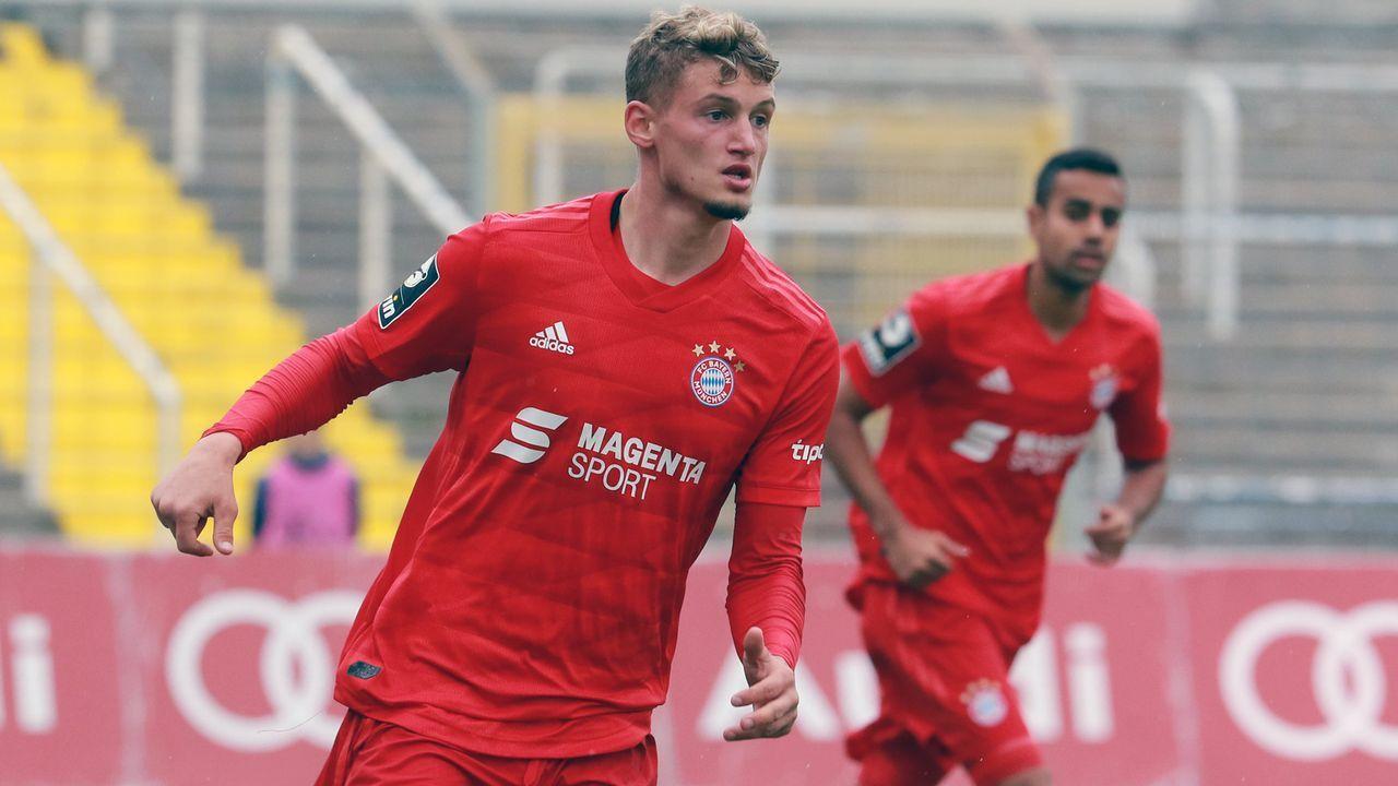 Mickael Cuisance (Spieler FC Bayern München II) - Bildquelle: imago images/Lackovic