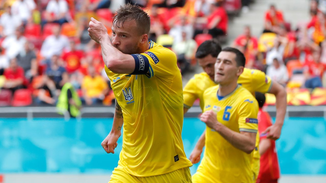 Gruppe C: Die Ukraine (Gruppendritter, 3 Punkte/4:5 Tore) - Bildquelle: 2021 Getty Images