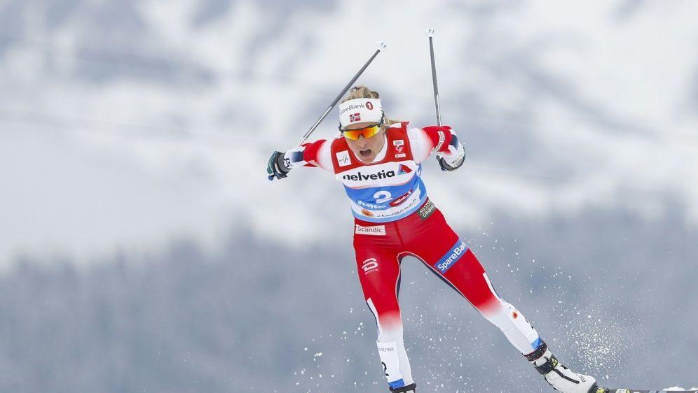 Johaug gewinnt ihr zwölftes Distanzrennen in Folge - Bildquelle: PIXATHLONPIXATHLONSID