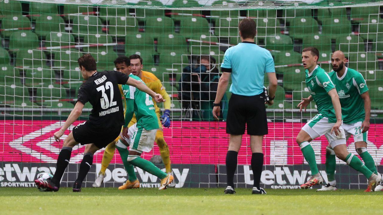 67. Minute: Bremen kassiert den nächsten - Bildquelle: Getty