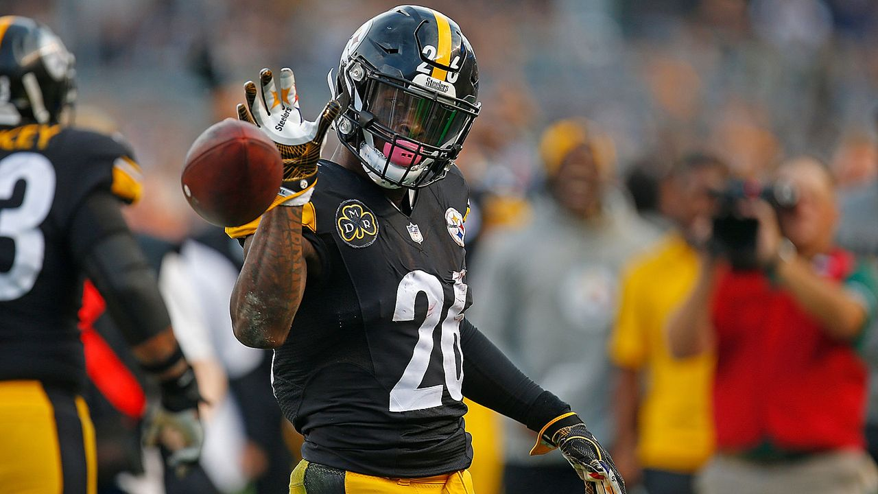 Platz 1: Le'Veon Bell (Pittsburgh Steelers) - Bildquelle: 2017 Getty Images