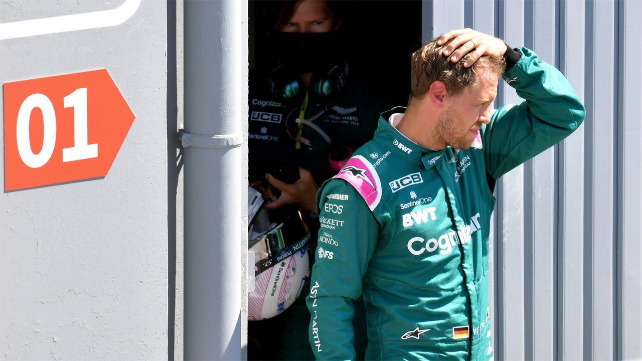 Verlierer: Sebastian Vettel - Bildquelle: Imago Images
