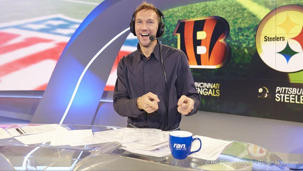 Volker Schenk gibt seine Prognose für die NFL-Saison 2017 ab - Bildquelle: ProSieben MAXX / Stefan Hobmaier