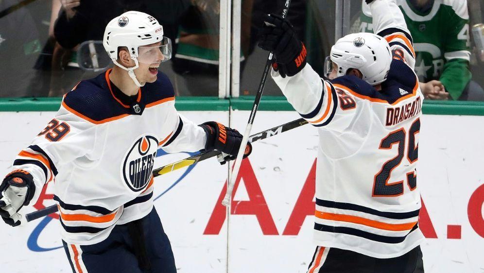 NHL-Star Draisaitl punktet erneut - Bildquelle: GETTY IMAGES NORTH AMERICAGETTY IMAGES NORTH AMERICASIDRONALD MARTINEZ