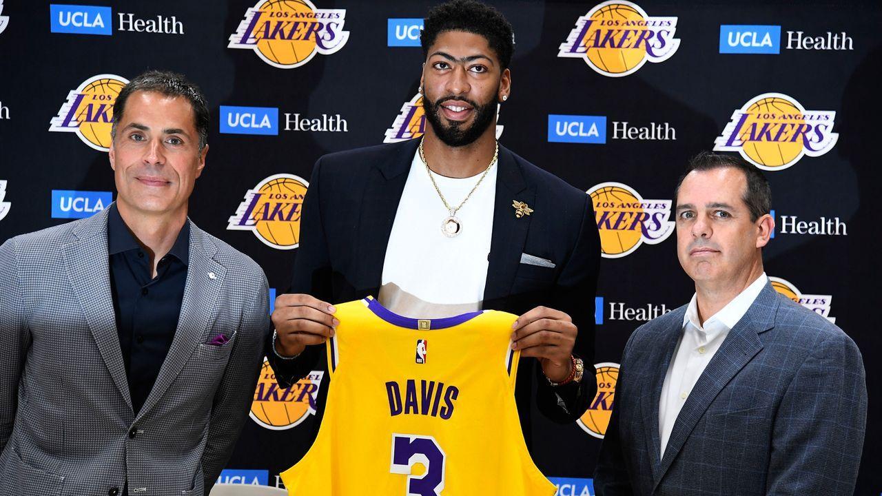 Anthony Davis (Los Angeles Lakers) - Bildquelle: 2019 Getty Images