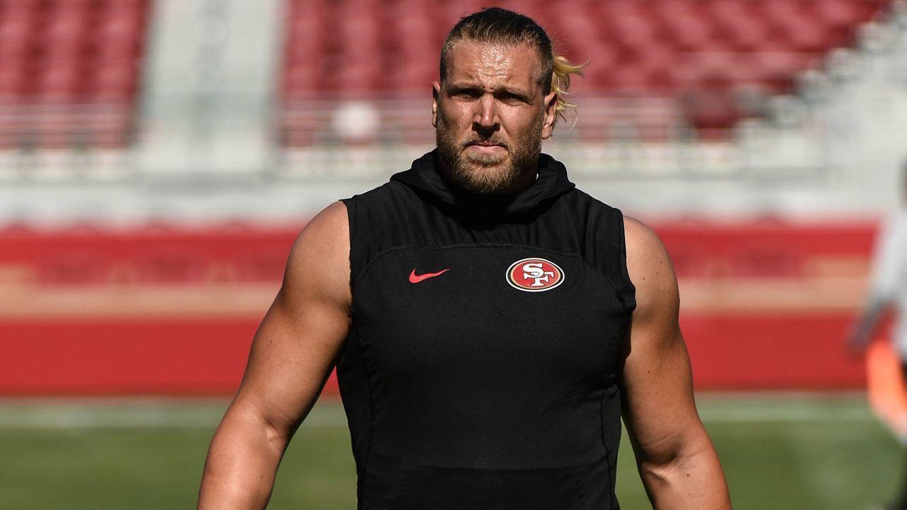 Platz 5: Kyle Nelson (San Francisco 49ers) - Bildquelle: imago/Icon SMI
