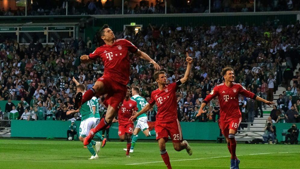 Bayern gewann 3:2 im Weserstadion - Bildquelle: AFPSIDPATRIK STOLLARZ