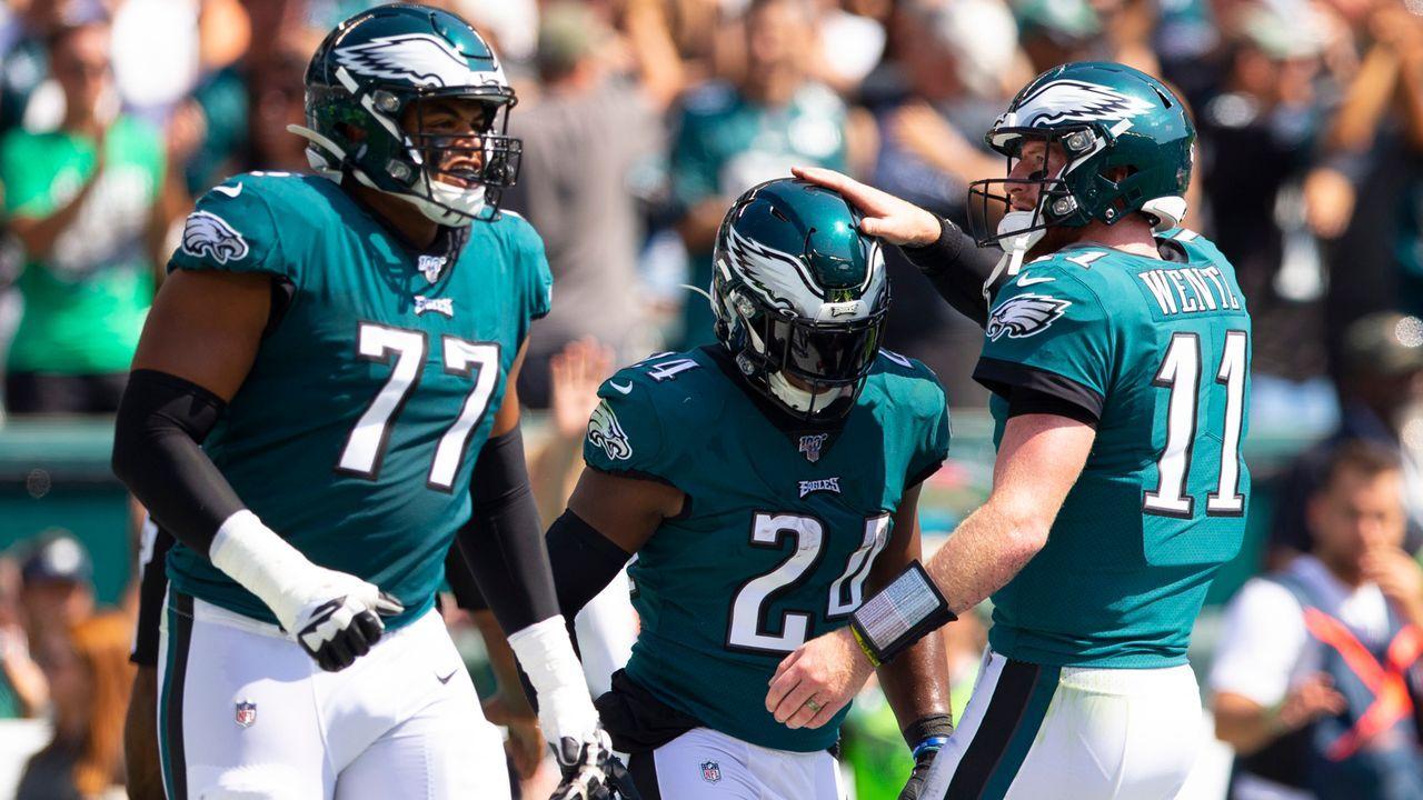 Platz 3: Philadelphia Eagles  - Bildquelle: 2019 Getty Images