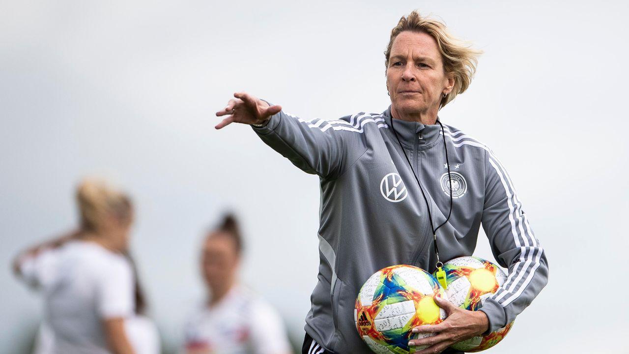 Wie macht sich die neue Bundestrainerin? - Bildquelle: 2019 Getty Images