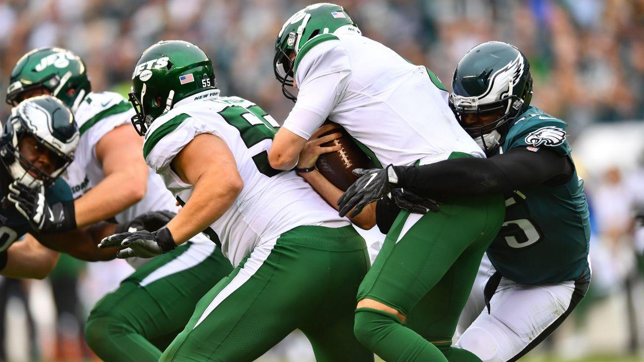 Verlierer: Offensive Line der New York Jets  - Bildquelle: imago images/Icon SMI
