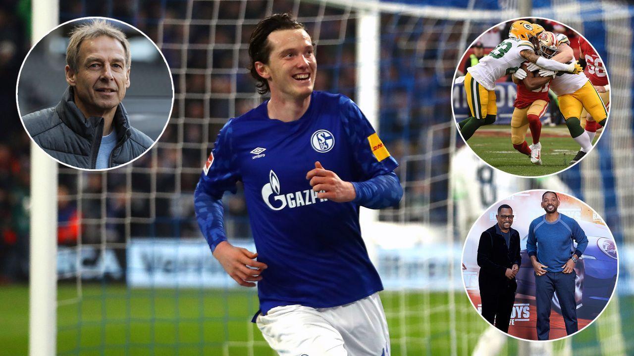 So sah die Welt aus als Schalke zuletzt in der ein Bundesliga-Spiel gewann - Bildquelle: 2020 Getty Images