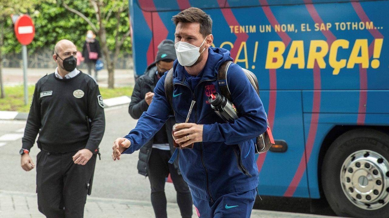 Alle Augen auf Lionel Messi - Bildquelle: imago images/Agencia EFE