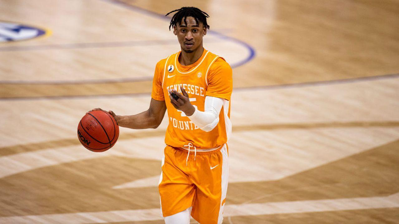 Keon Johnson (Tennessee, Guard) - Bildquelle: 2021 Getty Images
