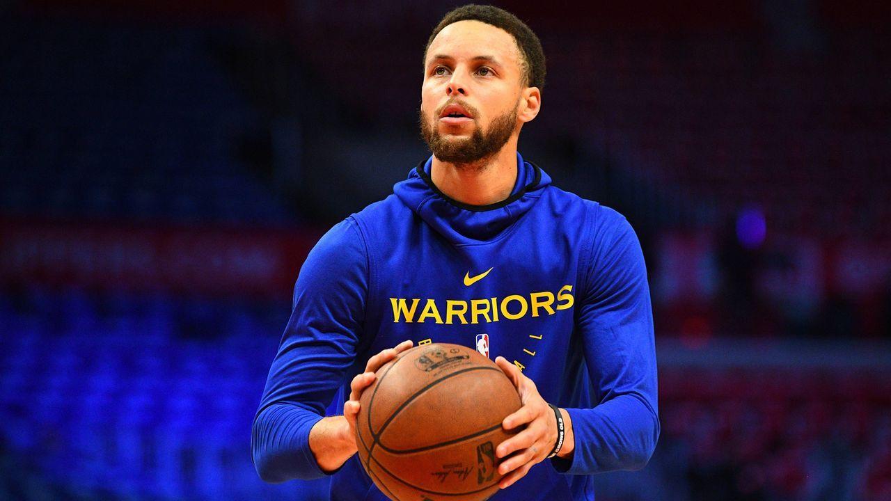 Platz 1: Stephen Curry (Golden State Warriors)                 - Bildquelle: imago images / Icon SMI