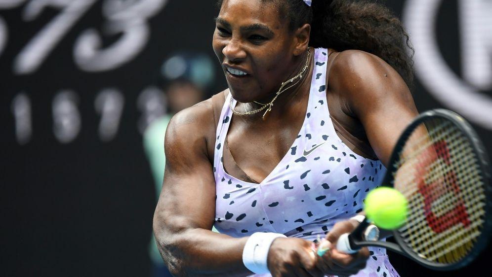Serena Williams gewann gegen Landsfrau Bernarda Pera - Bildquelle: AFPSIDWILLIAM WEST