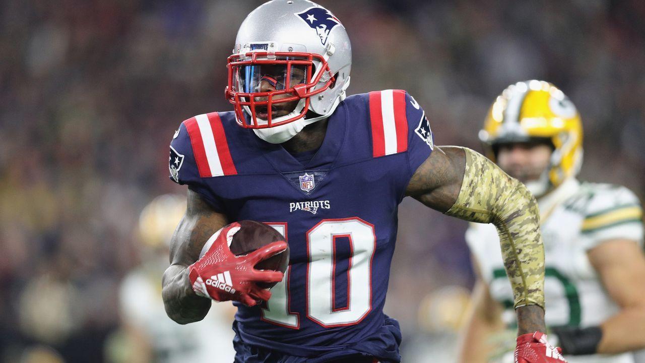 Josh Gordon (New England Patriots) - Bildquelle: 2018 Getty Images